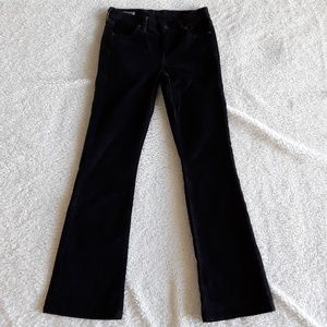 Citizens of Humanity Black Corduroy Bootcut Jeans